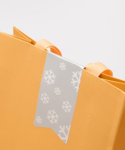 etiqueta de Navidad bolsa