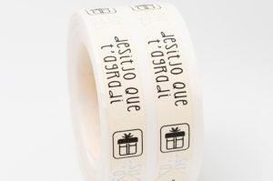 etiquetas adhesivas cierra bolsas