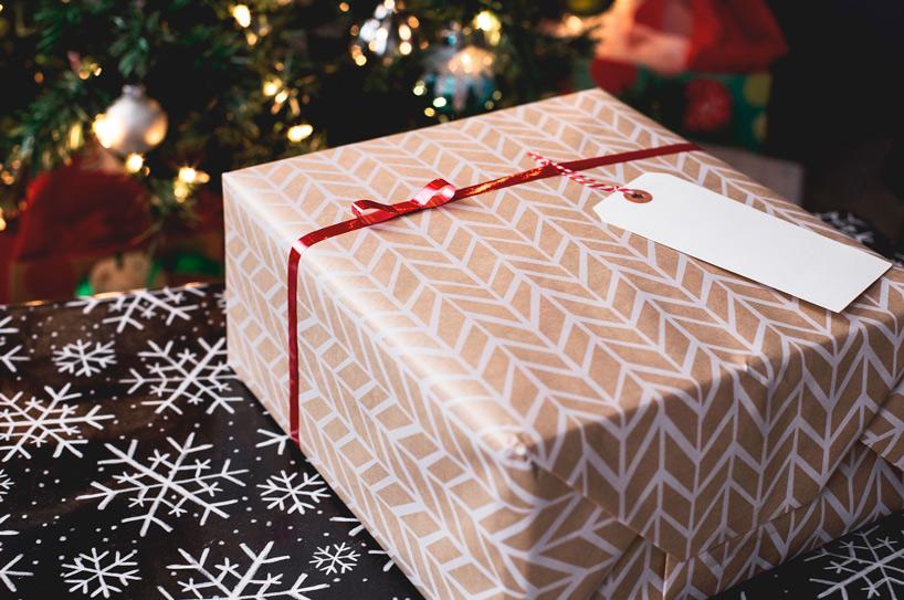 Etiquetas de Navidad creativas