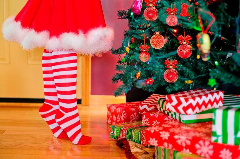 regala etiquetas de navidad