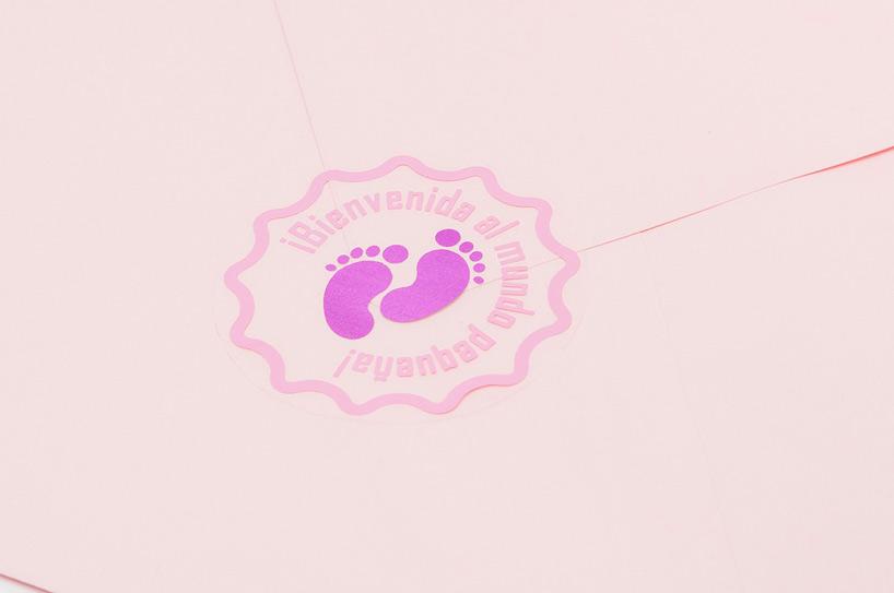etiqueta recién nacida