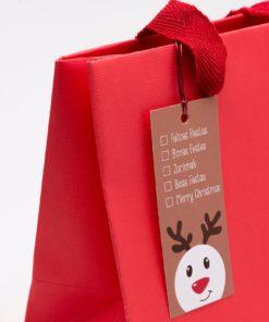 Etiquetas navidad felices fiestas