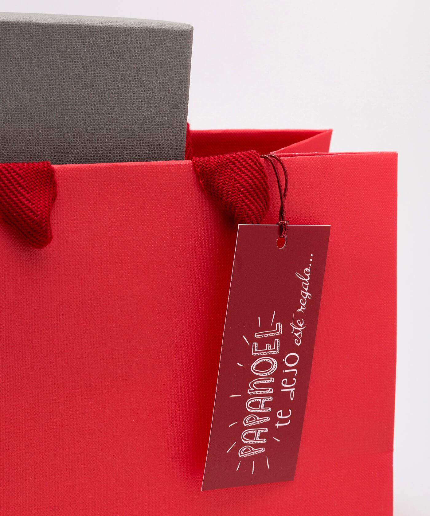 Etiquetas de navidad papanoel