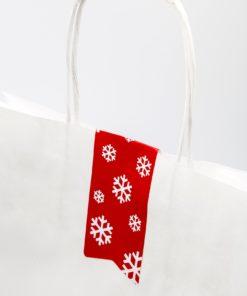 etiqueta navidad cierra bolsa