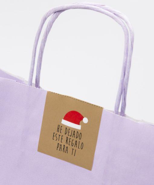Etiqueta Navidad regalo