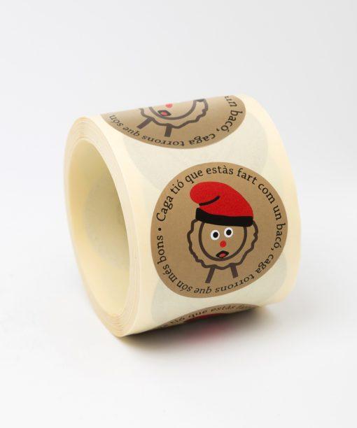 etiquetas de navidad tio